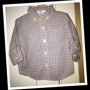 Baby boy Janie & jack dress shirt